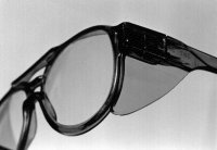 Fig. S6 Spectacles with protective shield