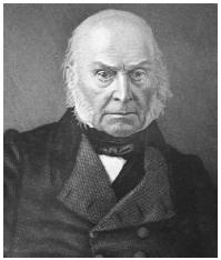 John Quincy Adams. LIBRARY OF CONGRESS