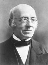 William Lloyd Garrison. LIBRARY OF CONGRESS