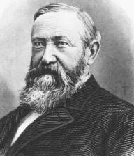 Benjamin Harrison. LIBRARY OF CONGRESS