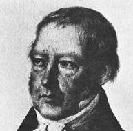 Georg Hegel. LIBRARY OF CONGRESS