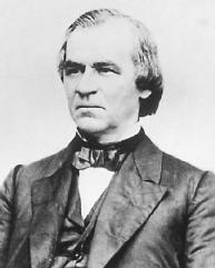 Andrew Johnson. LIBRARY OF CONGRESS