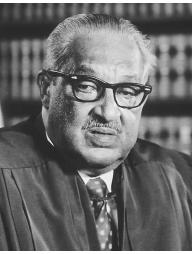Thurgood Marshall. LIBRARY OF CONGRESS