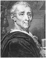 Charles-Louis de Secondat, Baron de la Brède et de Montesquieu. LIBRARY OF CONGRESS