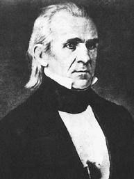James K. Polk. LIBRARY OF CONGRESS