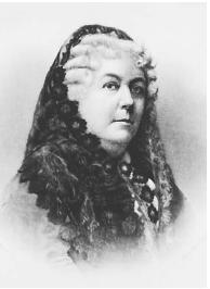 Elizabeth Cady Stanton. NATIONAL ARCHIVES AND RECORDS ADMINISTRATION