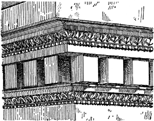 ionic columns and dentil - photo #34