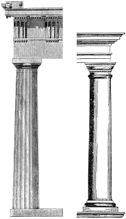 alfa img showing greek buildings with doric columns