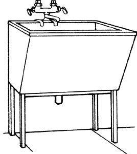 Laundry Tray : Laundry tub Article about laundry tub by The Free Dictionary
