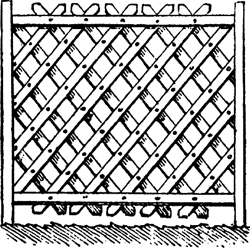 trellis lattice article about trellis lattice by the