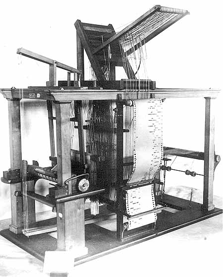 Jacquard loom | Article about Jacquard loom by The Free Dictionary