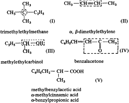 Structural Formula Meaning The Structural Formulas