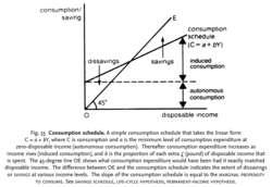Consumption schedule