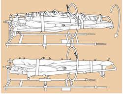 Stryker Wedge Frame Bed