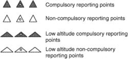 compulsory reporting points