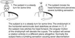 Coriolis illusion