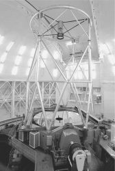 Gemini North telescope in its dome