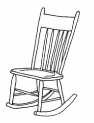 Lady s rocking chair definition of Lady s rocking chair