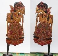 Wayang klitik image of Batara Guru