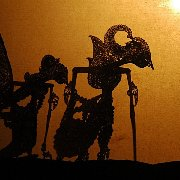Wayang kulit as seen from the shadow side