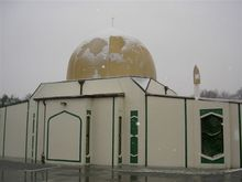 Canterbury Mosque, New Zealand; June 2006. Built over 1984-85 it was the world's southern-most mosque until 1999.
