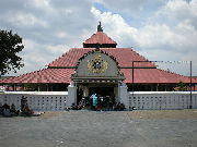 The Grand Mosque of Yogyakarta, Indonesia shows Javanese interpretation blended with Indian architectural heritage of Meru stepped roofs.