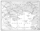 Aegean Sea - an arm of the Mediterranean between Greece and Turkey