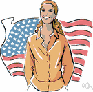 suffrage - a legal right guaranteed by the 15th amendment to the US Constitution