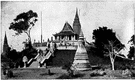 Pnom Penh - the capital and largest city of Kampuchea