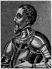 margrave - the military governor of a frontier province in medieval Germany
