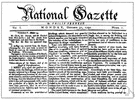 gazette - a newspaper or official journal
