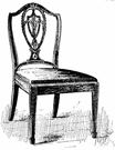 Sheraton - a furniture style that originated in England around 1800