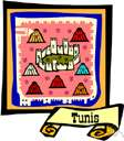 Tunis - the capital and principal port of Tunisia