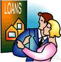 mortgage loan - a loan on real estate that is usually secured by a mortgage