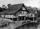 kampong - a native village in Malaysia