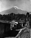 Pico de Orizaba - an extinct volcano in southern Mexico between Mexico City and Veracruz