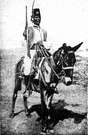 trooper - a soldier mounted on horseback