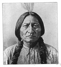 Sitting Bull - a chief of the Sioux
