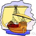 dandy - a sailing vessel with two masts