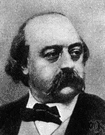 Gustave Flaubert - French writer of novels and short stories (1821-1880)