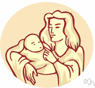 motherhood - the kinship relation between an offspring and the mother