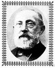 Rudolf Virchow - German pathologist who recognized that all cells come from cells by binary fission and who emphasized cellular abnormalities in disease (1821-1902)