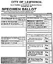 absentee ballot - (election) a ballot that is cast while absent (usually mailed in prior to election day)