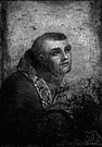 Serra - Spanish missionary who founded Franciscan missions in California (1713-1784)