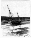low tide - the lowest (farthest) ebb of the tide