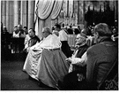 high mass - a solemn and elaborate Mass with music