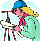 surveyor - an engineer who determines the boundaries and elevations of land or structures