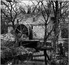 gristmill - a mill for grinding grain (especially the customer's own grain)