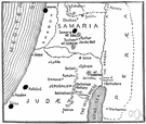 Judaea - the southern part of ancient Palestine succeeding the kingdom of Judah
