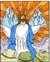 transfiguration - (Christianity) a church festival held in commemoration of the Transfiguration of Jesus